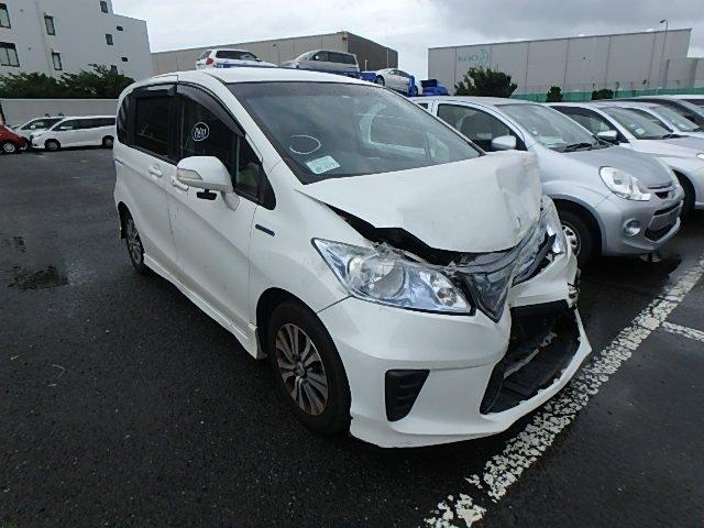 Honda Freed Hybrid 2013