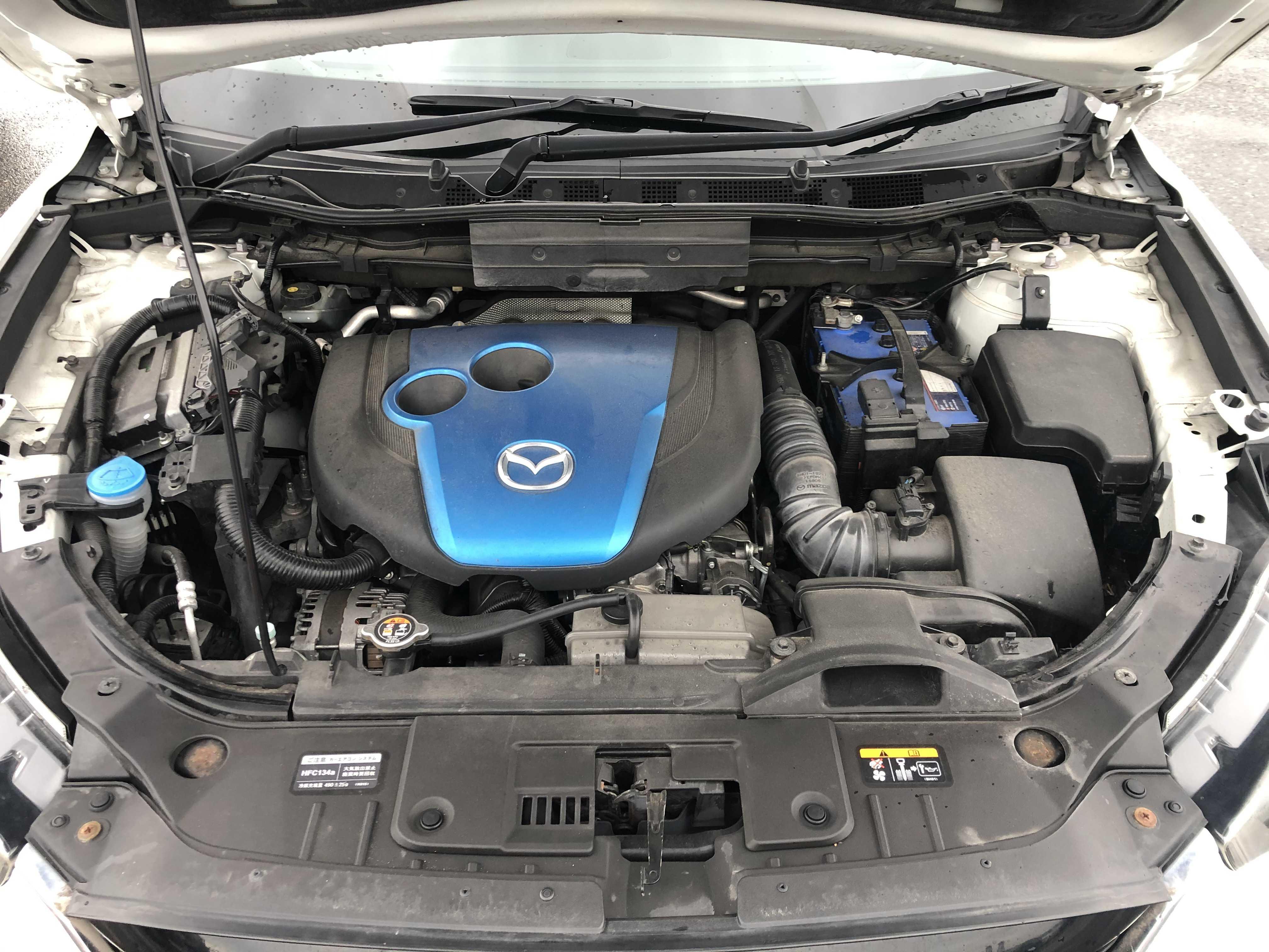 Mazda CX-5 2014, PEARL WHITE, 2000cc - Autocraft Japan