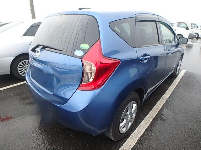 Nissan Note 2016, BLUE, 1190cc, ATM - Autocraft Japan