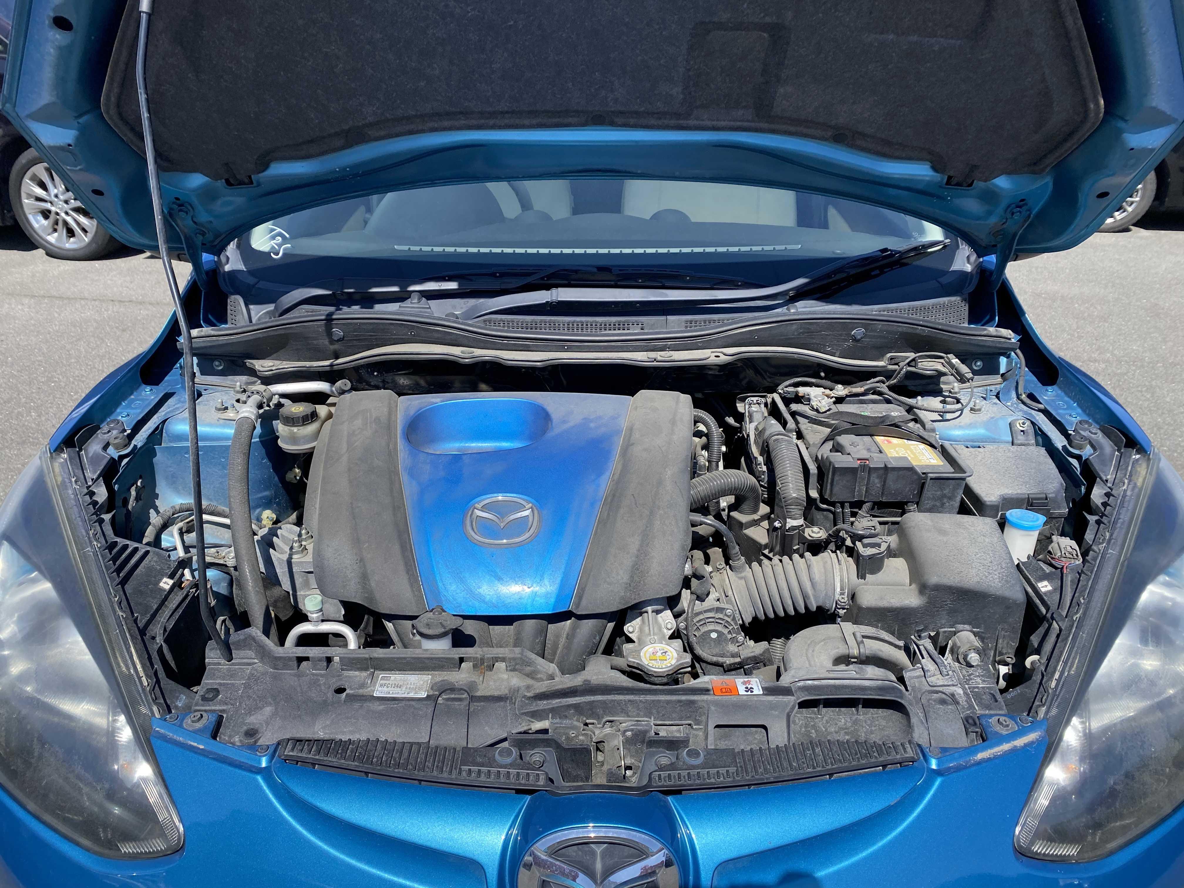 Mazda Demio 2012, BLUE, 1290cc, ATM - Autocraft Japan