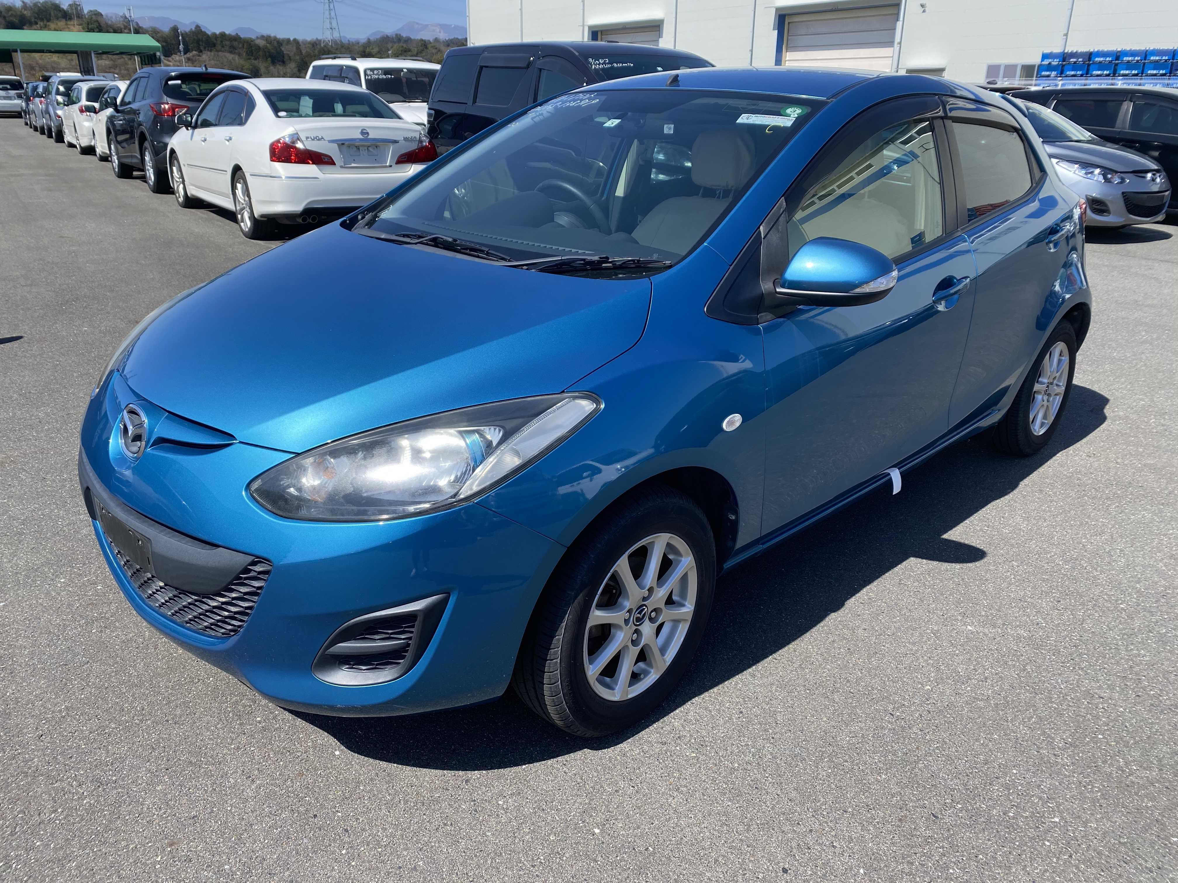 Mazda Demio 2011, BLUE, 1290cc, ATM - Autocraft Japan