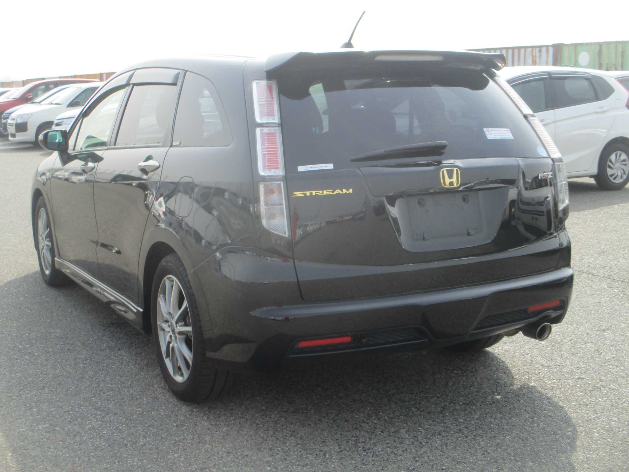 Honda Stream 2013, BLACK, 1800cc - Autocraft Japan