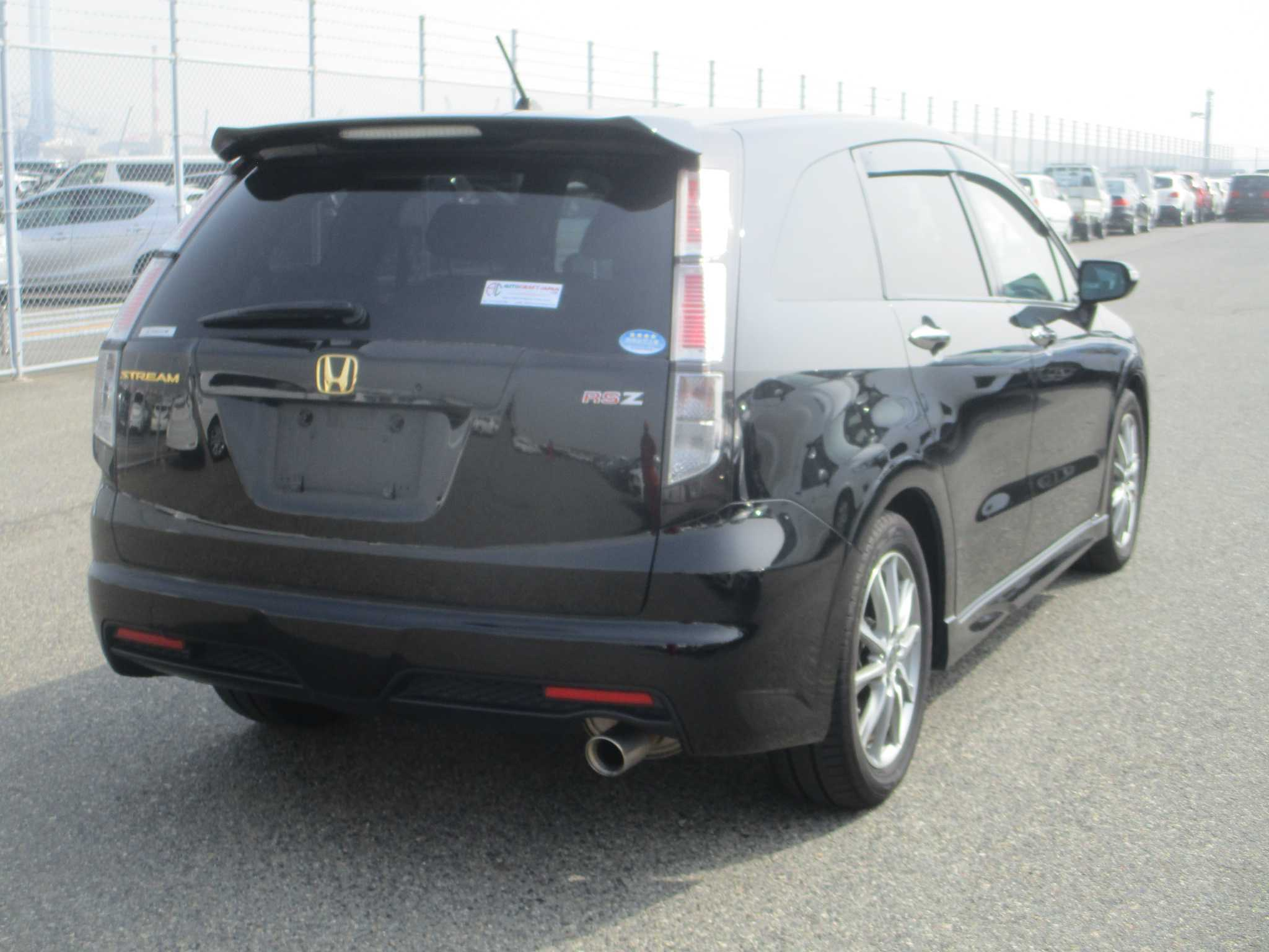 Honda Stream 2012, RED, 1800cc, ATM - Autocraft Japan