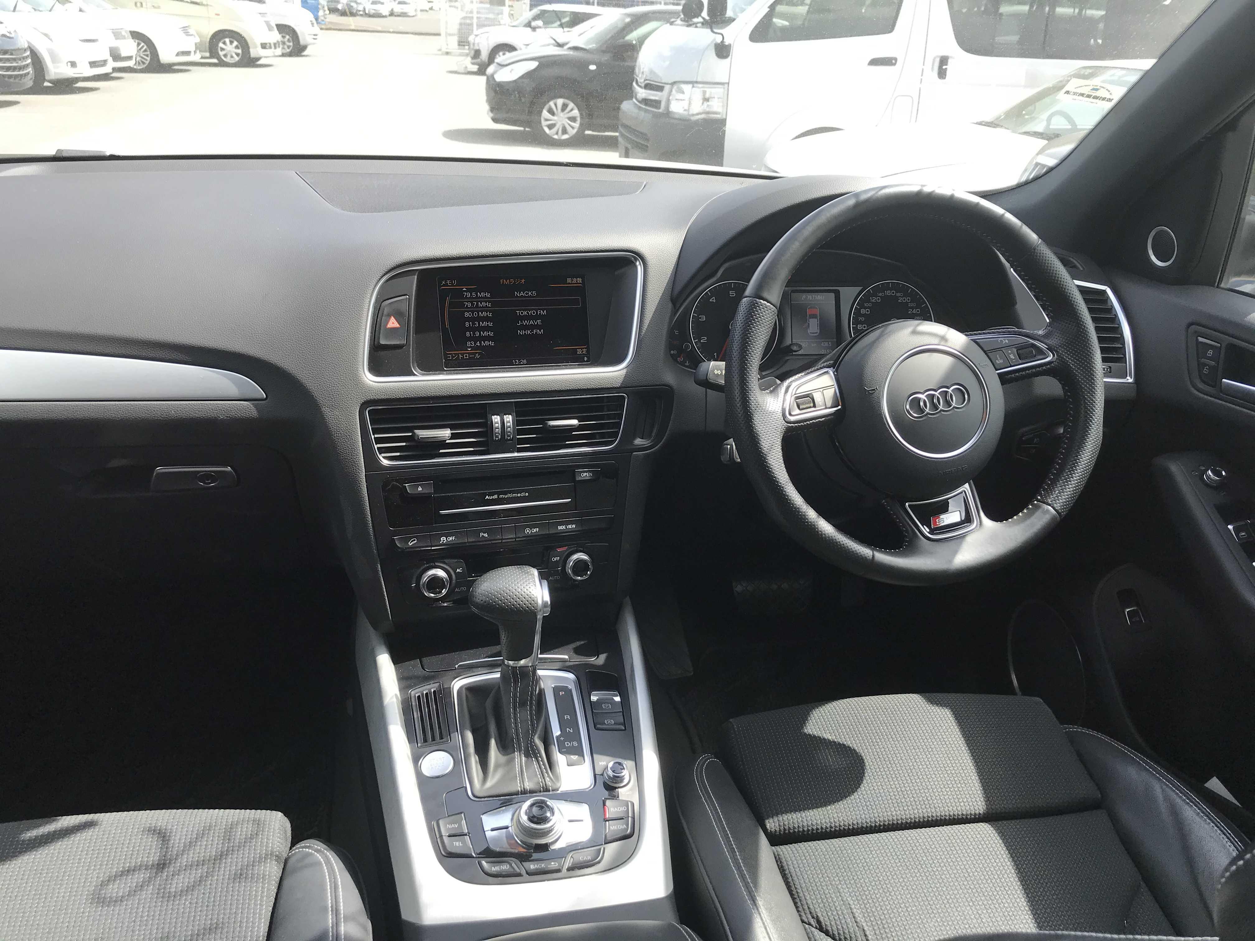 Audi Q5 2013, BLACK, 1980cc, ATM - Autocraft Japan
