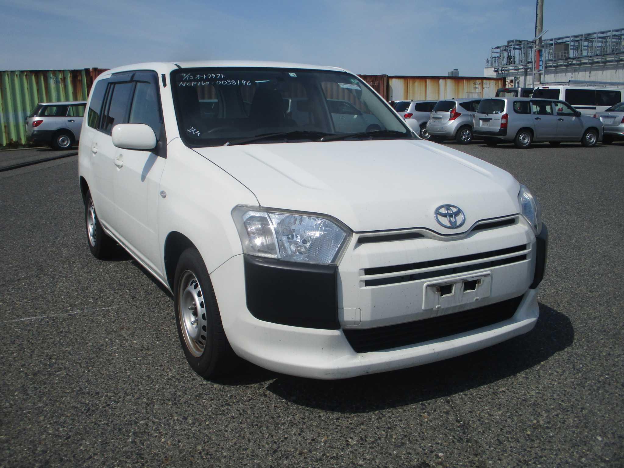 Toyota Succeed Van 2016