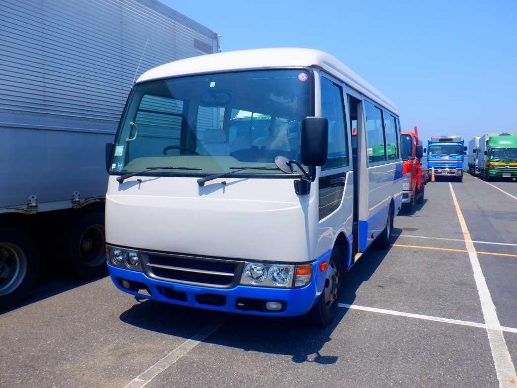 Mitsubishi Rosa 2014, WHITE 2, 2990cc - Autocraft Japan