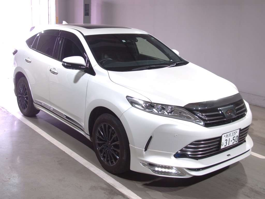 Toyota Harrier 2019