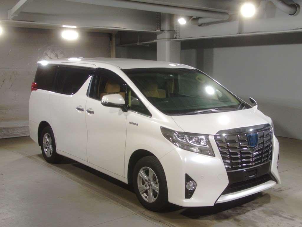 Toyota Alphard Hybrid 2017