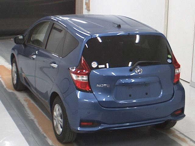 Nissan Note 2015, BLUE, 1190cc, ATM - Autocraft Japan