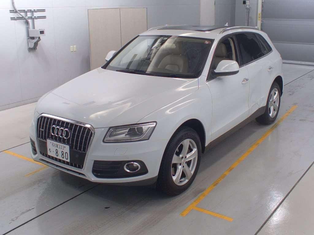 Audi Q5 2014, WHITE, Gasoline, RHD, 1980cc, ATM