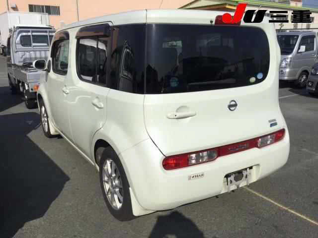 Nissan Cube 2012, PEARL, 1500cc - Autocraft Japan