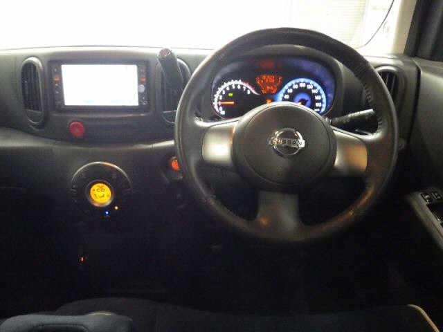 Nissan Cube 2012, BLACK, 1500cc - Autocraft Japan