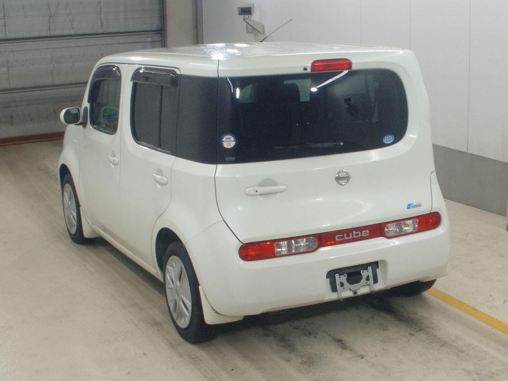 Nissan Cube Cubic 2008, PEARL, 1500cc - Autocraft Japan