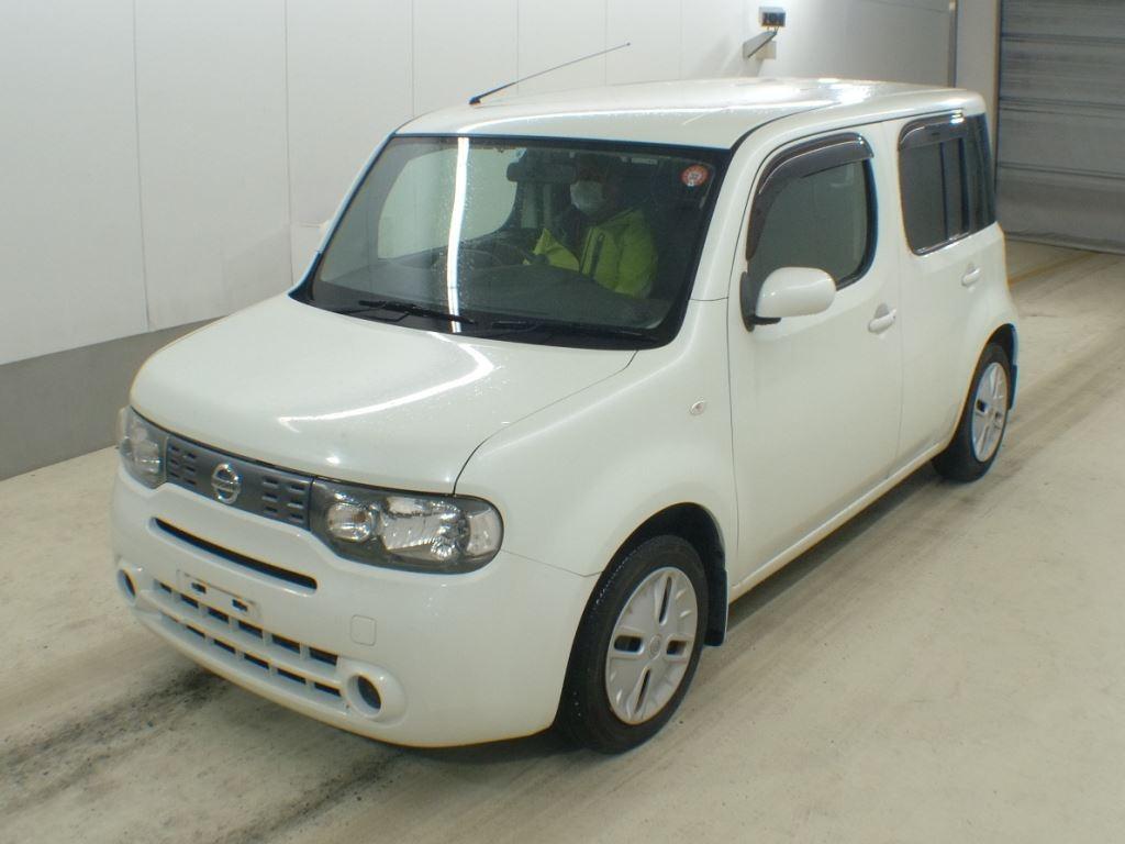Nissan Cube 2012, BROWN, 1500cc - Autocraft Japan