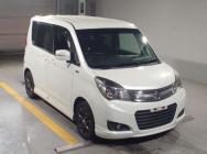 Suzuki Solio 2014 BLACK & WHITE 2-DJE