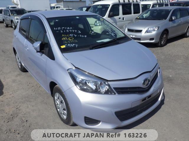 Toyota Vitz 2010, SILVER, 1300cc - Autocraft Japan
